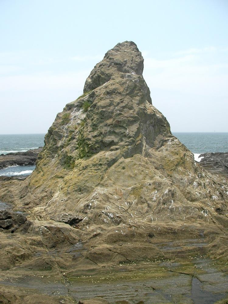 えぼし岩の北面