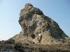 鯨通しから見る烏帽子岩
