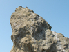 烏帽子岩の頭頂部