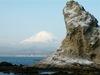 富士山と烏帽子岩