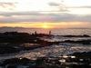 日の出の烏帽子岩