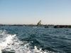 渡船から見る烏帽子岩