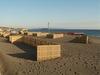 市民との協働で製作、設置された飛砂防止の竹垣