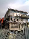 フィッシュセンター解体中!その3(2月2日)